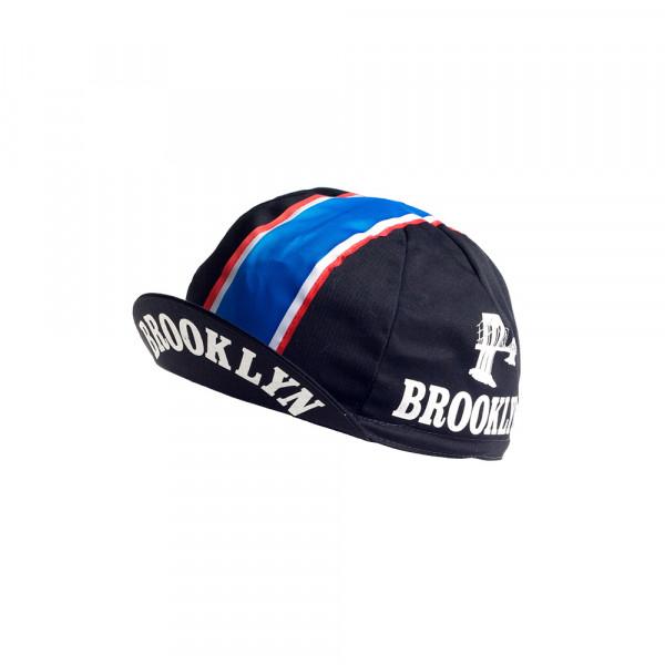 Vintage Cycling Cap - Brooklyn Black