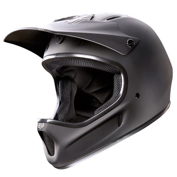 Rampage Fullface Helm Matte Black