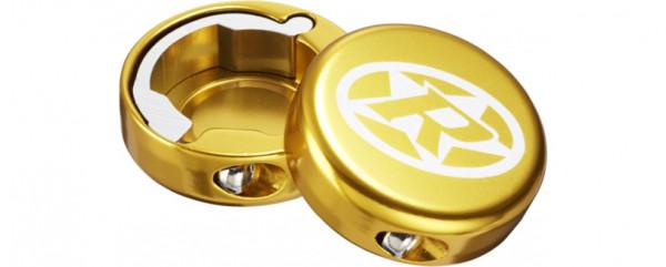 Bar Ends Lenkerendkappen Paar - gold