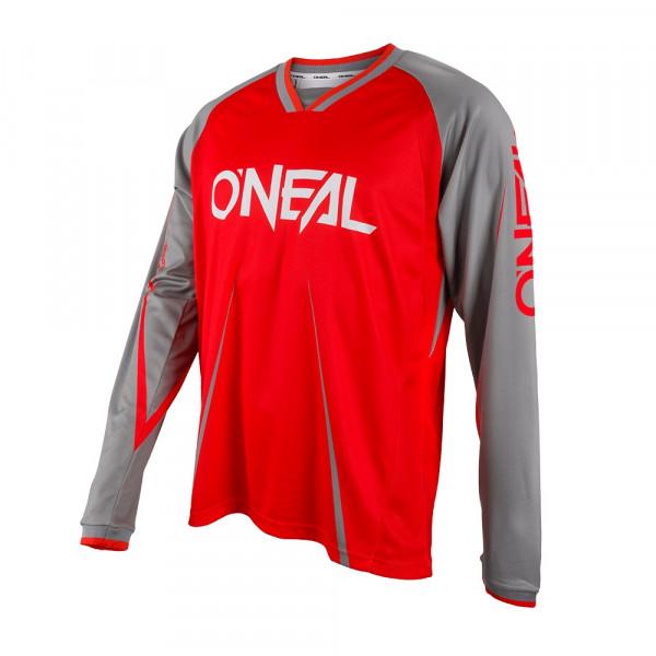 Element FR Blocker Long Sleeve Jersey - red/gray