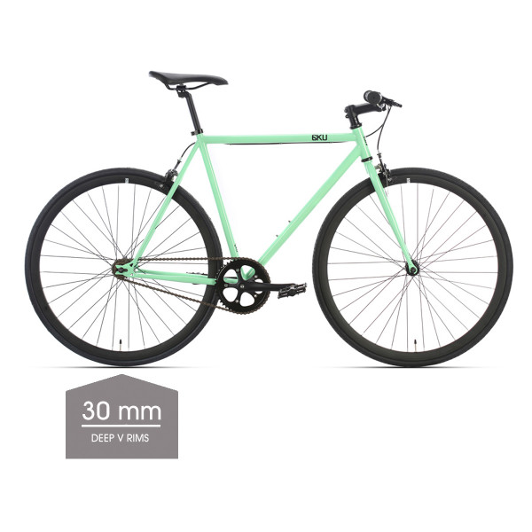 Milan 2 Singlespeed/Fixed Bike - 30 mm Deep V Felgen
