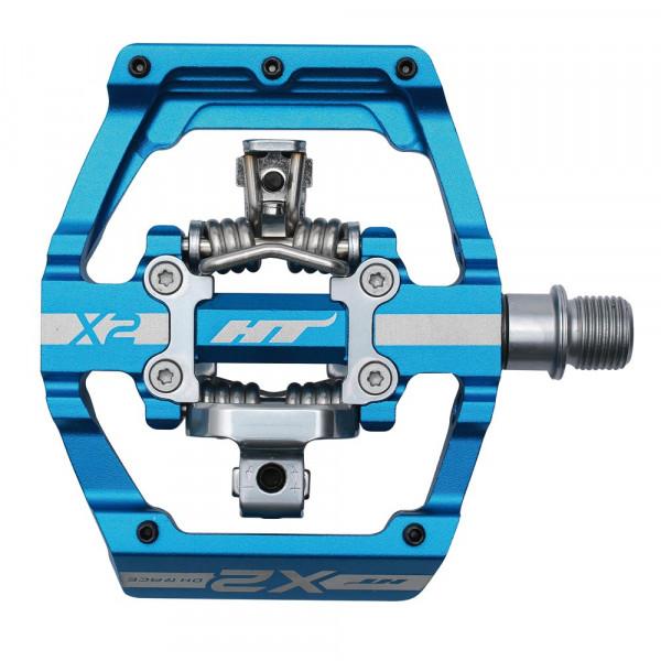 DH-Race X2 Pedal - blau