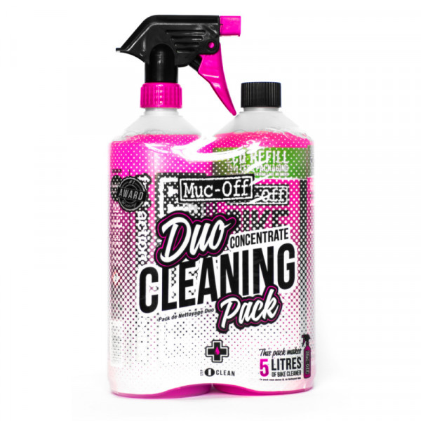 Duo Cleaning Pack - 1 Liter Konzentrat & 1 Liter Bike Cleaner