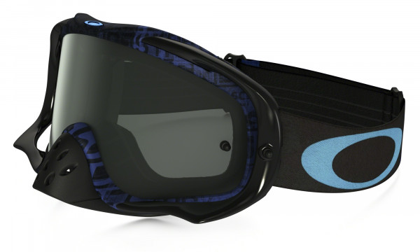 Crowbar MX Goggle - Distress Tagline Stealth Blue