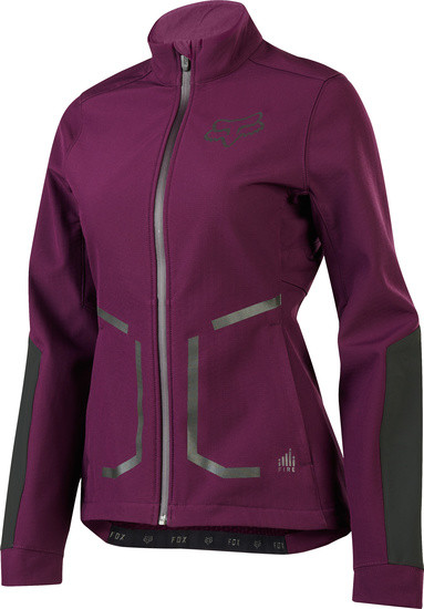 Attack Fire Jacke - Women - Plum