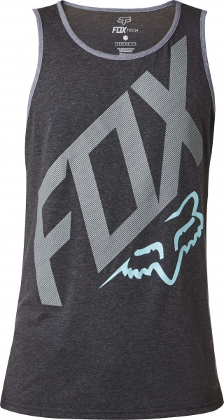 Closed Circuit Tech Tank - Heather Black