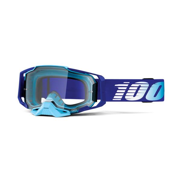 Armega Goggle Anti Fog -Blau/Hellblau - Klar-