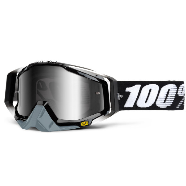 Racecraft Premium MX Goggle - Abyss Black