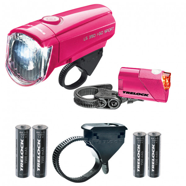 LS350 I-go Sport + LS710 Scheinwerfer Kombi-Set - pink