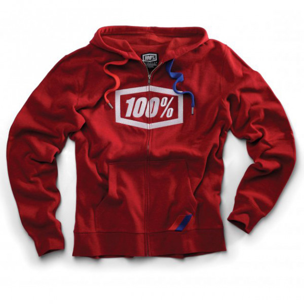 Syndicate Zip Hoody red