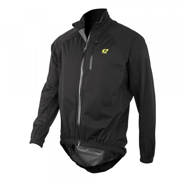 Monsoon Stretch Regenjacke - black