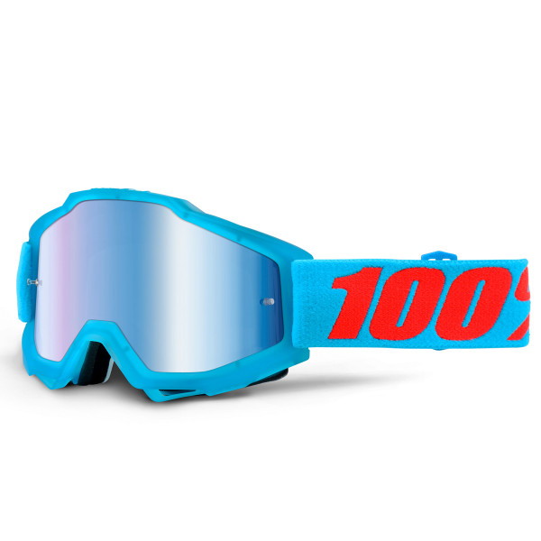 Accuri MX Goggle - Acidulous Cyan Mirror Lens