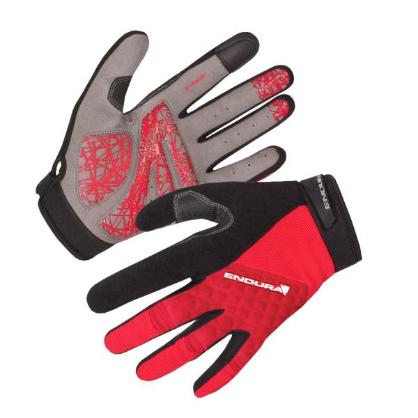 Hummvee Plus Handschuh - Rot