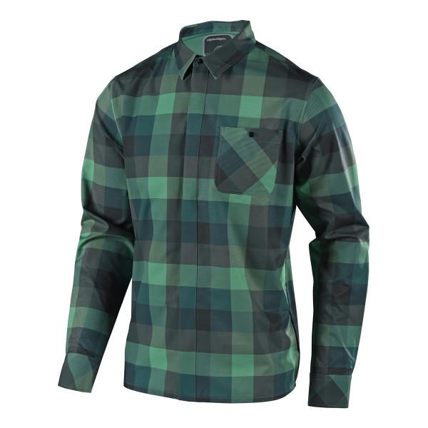 Grind Flannel - Grün