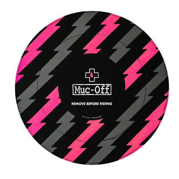 Cover für Scheibenbremse - Pink