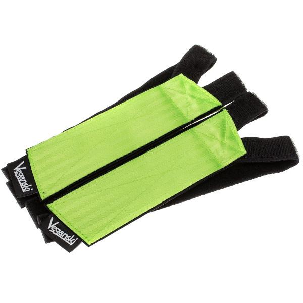 Freestyle Pedal Straps - neon green