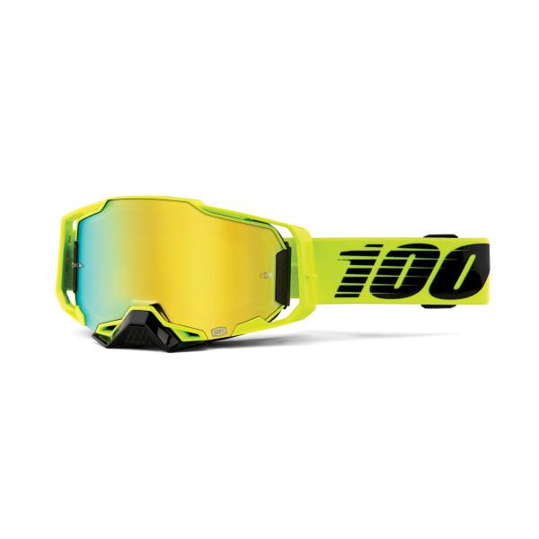 Armega Goggle Anti Fog - Grün - verspiegelt