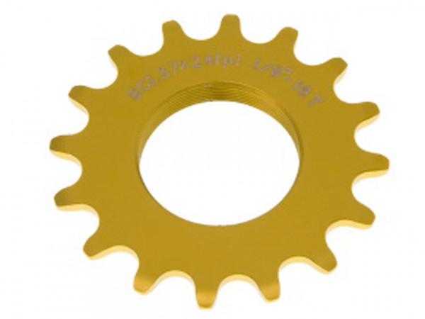 Track Sprocket 1/8Zoll Schraubritzel - gold