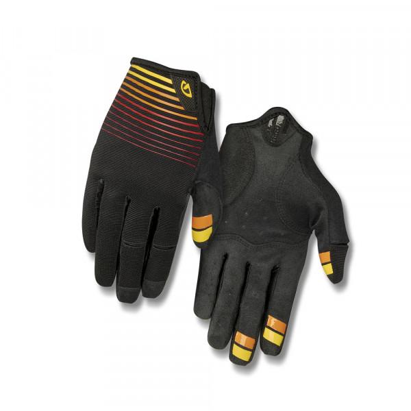 DND Handschuhe - Schwarz/Heatwave