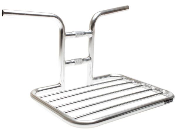 Flat Rack Lenkergestell - Poliertes Silber