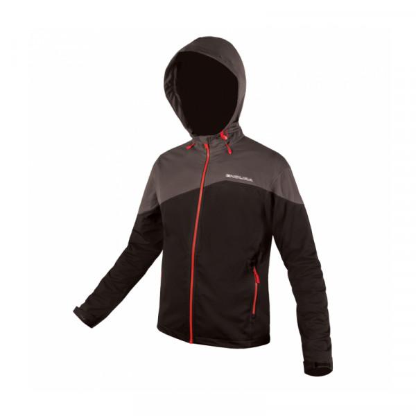 SingleTrail Softshell Jacke - schwarz