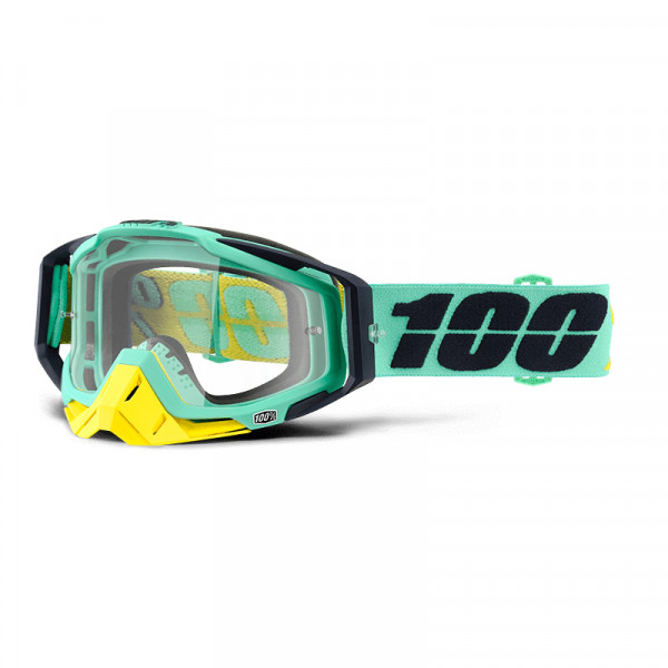 Racecraft Goggle Anti Fog Clear Lens - Kloog