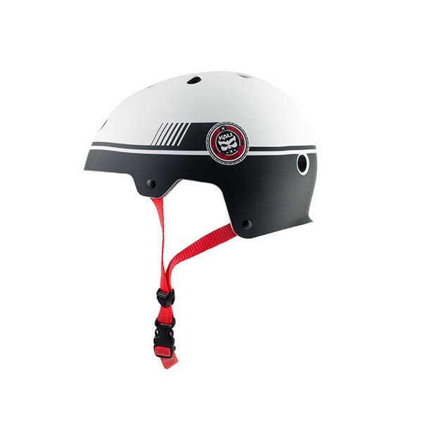 Maha Graphics Dirt Helm - black/red