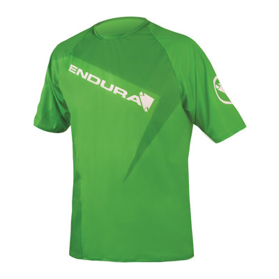 Singletrack Print II Shirt - Kellygrün
