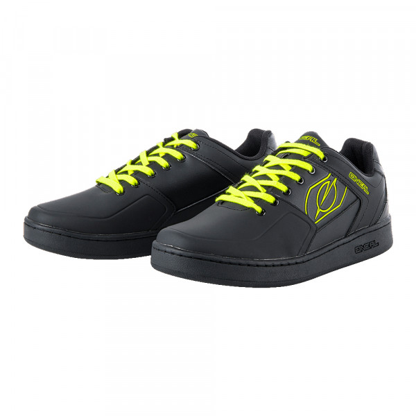 Pinned Pedal Schuh - black/neon yellow
