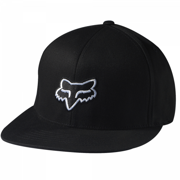 The Steez 210 Fitted Hat Black