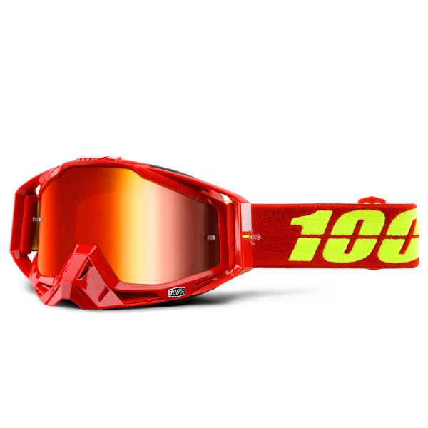 Racecraft Premium MX Goggle - Corvette Mirror Lens