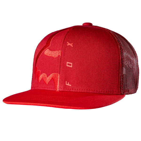 Eyecon Box Snapback - Medium Red