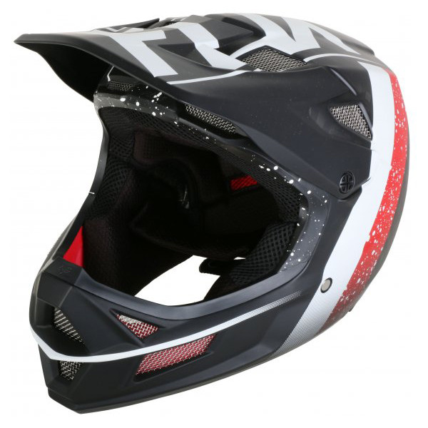 Rampage Pro Carbon Kroma MIPS Helm - black/white