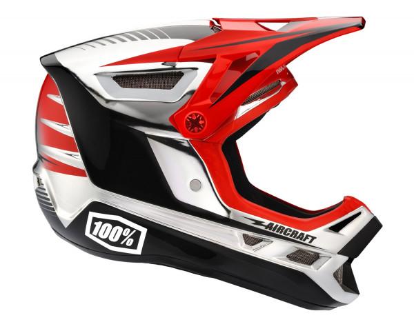 Aircraft Downhill Helm Twinblaze Chrome