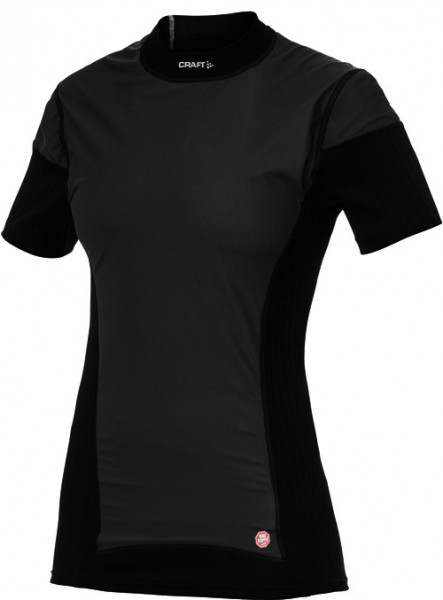 Active Extreme Windstopper Shortsleeve Women black