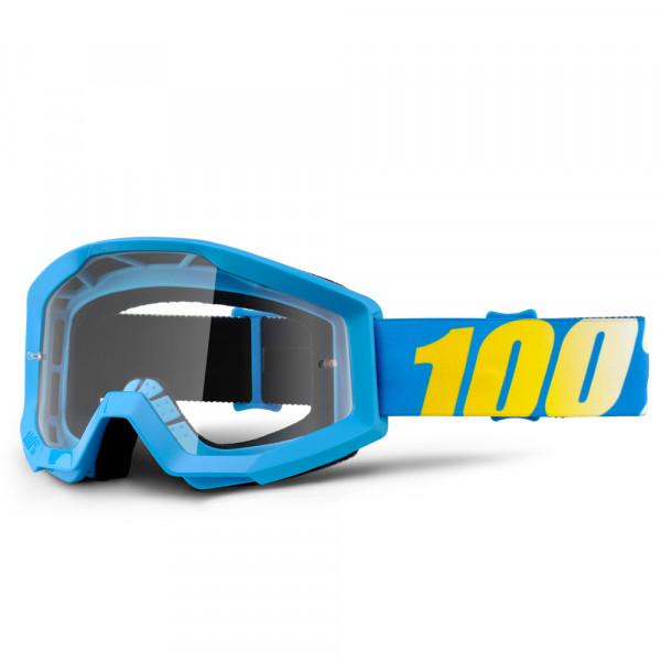 Strata MX Goggle - Blue Clear Lens