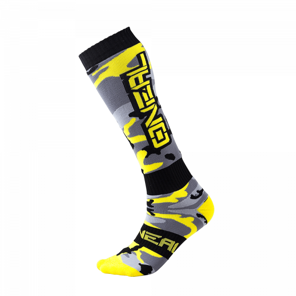 Pro MX Socks - Hunter - black/gray/yellow