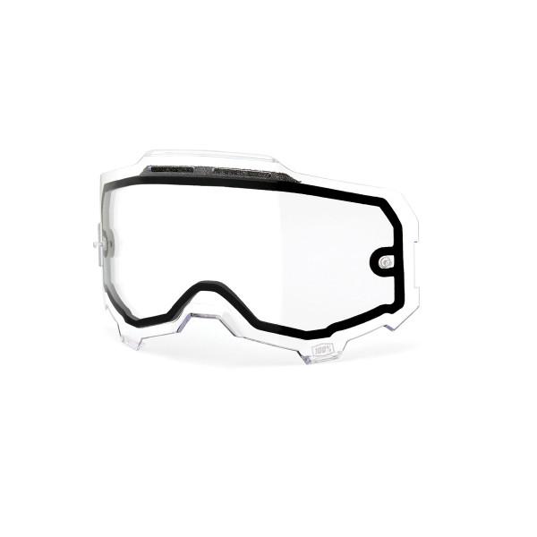 Armega Dual Panel Anti-Fog Ersatzlinse - Klar