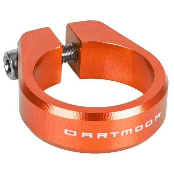 Ring Sattelstützenklemme - orange