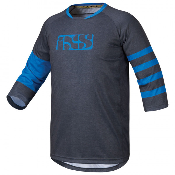 Vibe 6.2 BC 3/4 Jersey Trikot - graphite/fluor blue