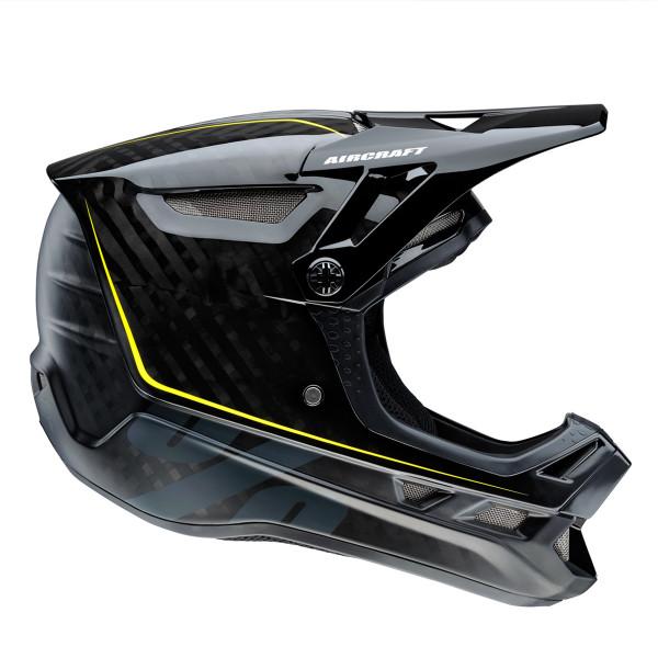 Aircraft Downhill Helm Raw Black