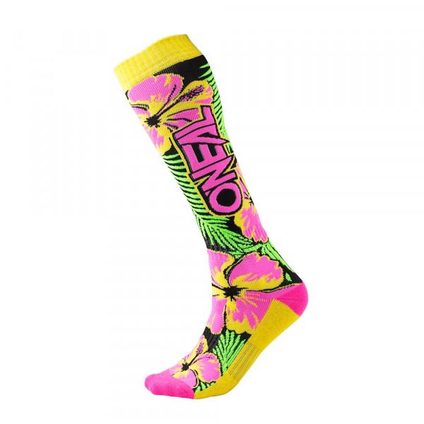 Pro MX Socks - Island - pink/green/yellow