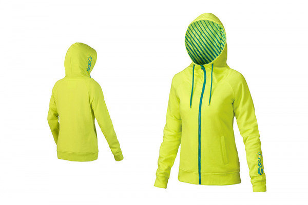 Diamond Lady Trail Hoody - Yellow/Green