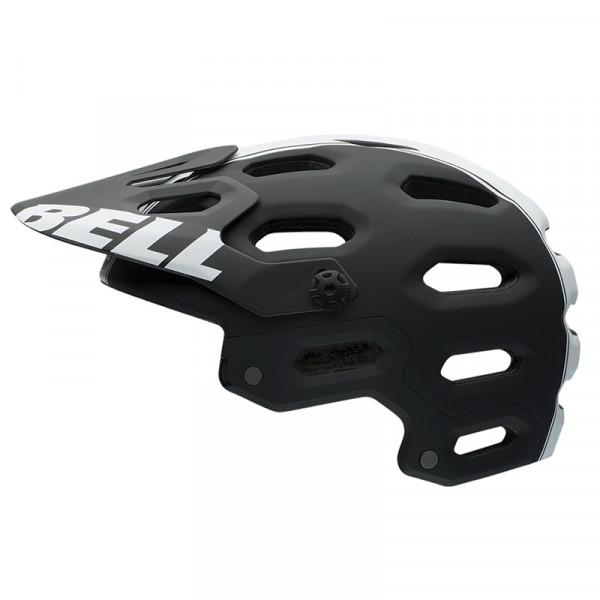 Super 2 Enduro Helm 2015 - schwarz weiss