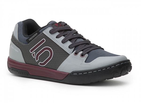 Freerider Contact Womens Bike Schuh Maroon/Grey