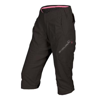 Wms Hummvee Lite 3/4 Shorts - Schwarz