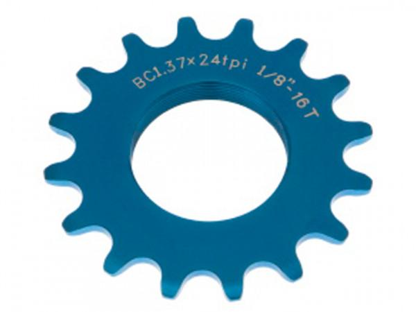 Track Sprocket 1/8Zoll Schraubritzel - blau