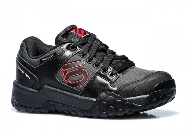 Impact Low Bike Schuh Black/Red