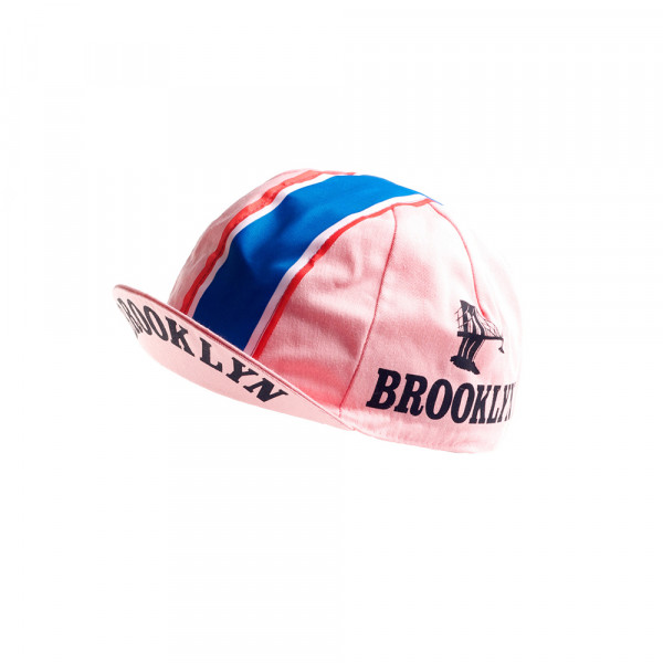 Vintage Cycling Cap - Brooklyn Pink