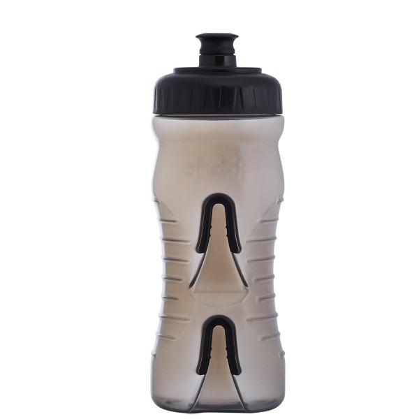 Cageless Trinkflasche - 600 ml - Smoke/Schwarz